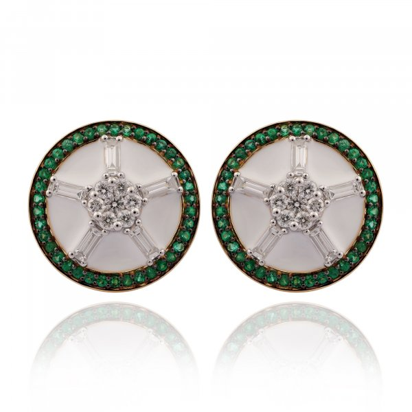 Cloisonné Collection Earring 5158E-EM