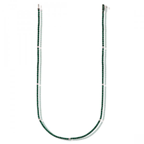 Milano Classic Tennis Necklace Collane(N)-EM