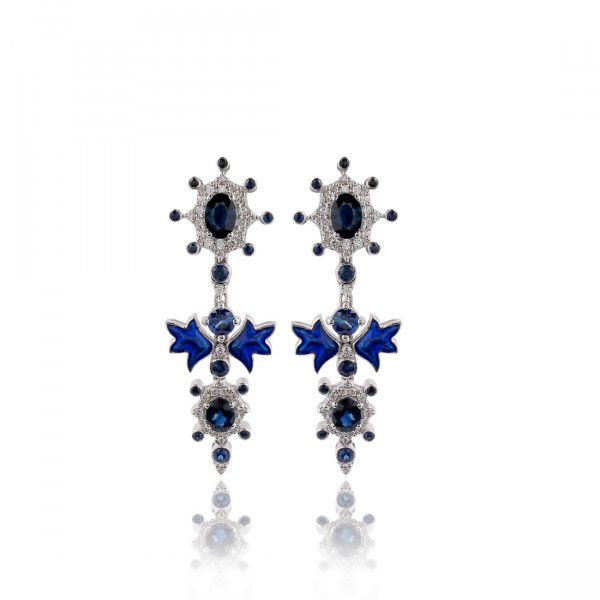 Cloisonné Collection Earring E1958-NBS