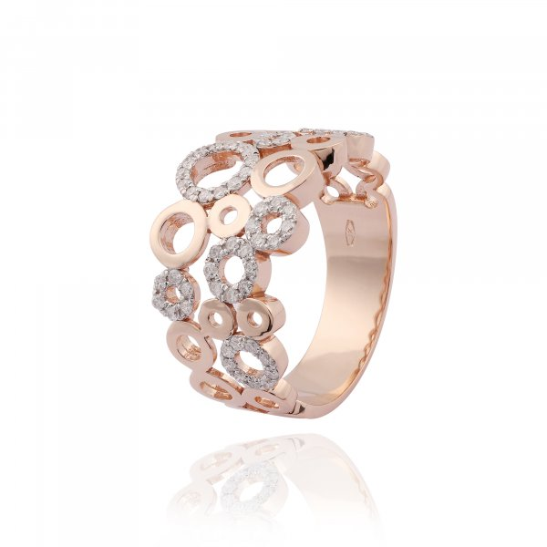 Celebrity Ring JD 5204R-WH