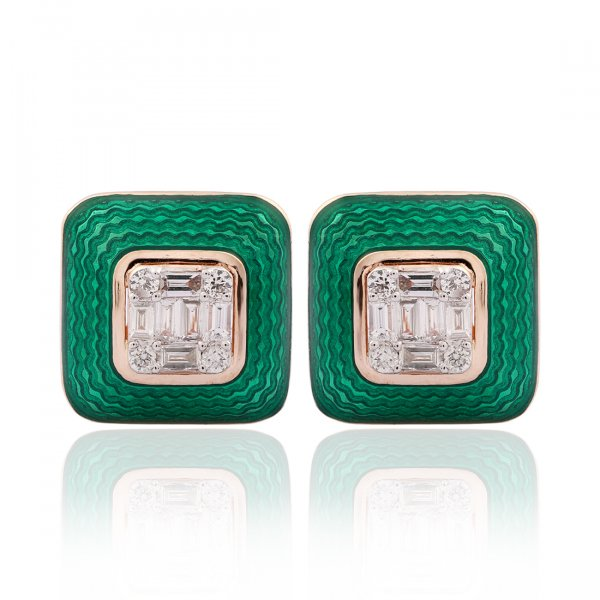 Cloisonné Collection Earring MN126e-6