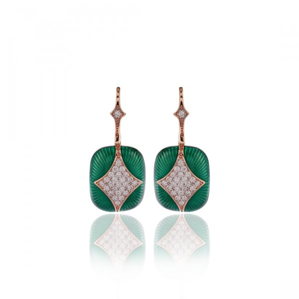 Cloisonné Collection Earring MN139e-6
