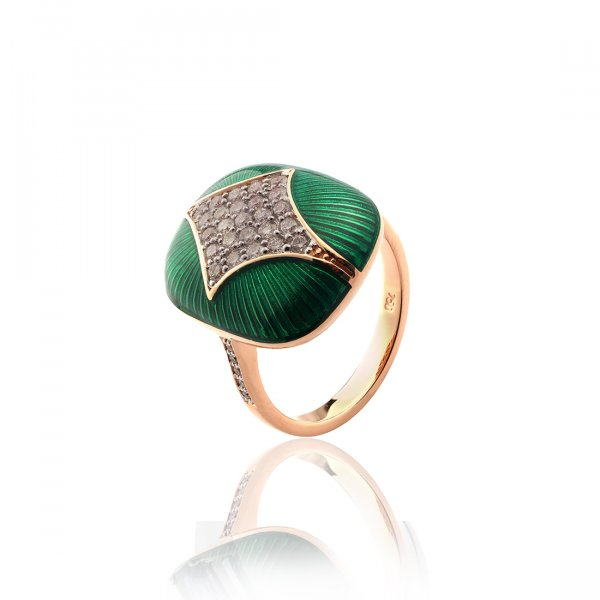 Cloisonné collection Ring MN139r