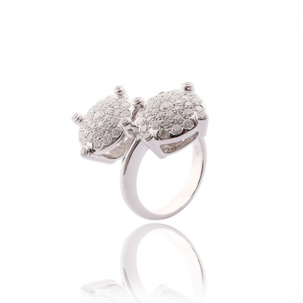 Pave Ring R0945-WH