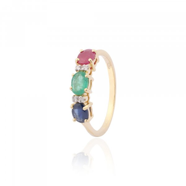 Vintage Classic Ring R2678-MIX