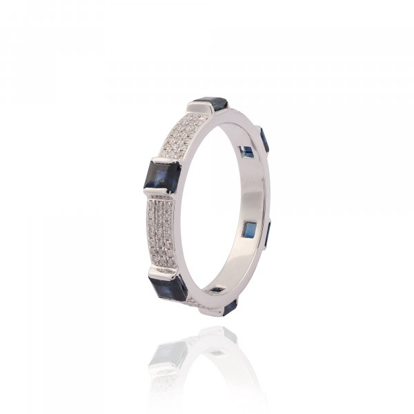 Forever Eternity Ring With Micro Pave R3253-NBS