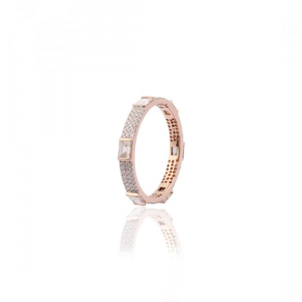 Forever Eternity Ring With Micro Pave R3253