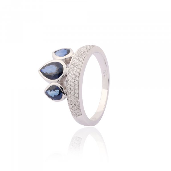 Celebrity Ring R3345-BS