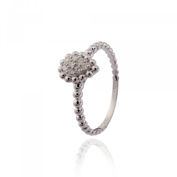 Vintage Classic Ring TP-2928R-WH