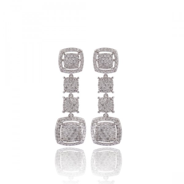 Pave Earring Pave TP-3662E